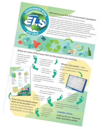 ELS Environmental October Newsletter