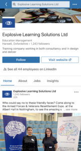 Follow Explosive Learning Solutions on LinkedIn